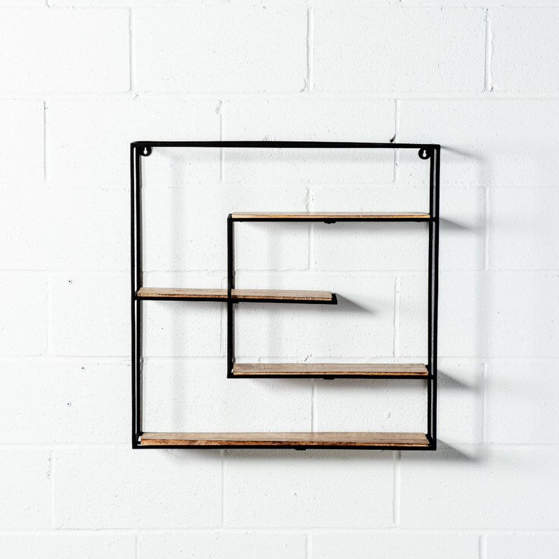 MIRO - Wall-Mounted Shelf - Wazo Furniture