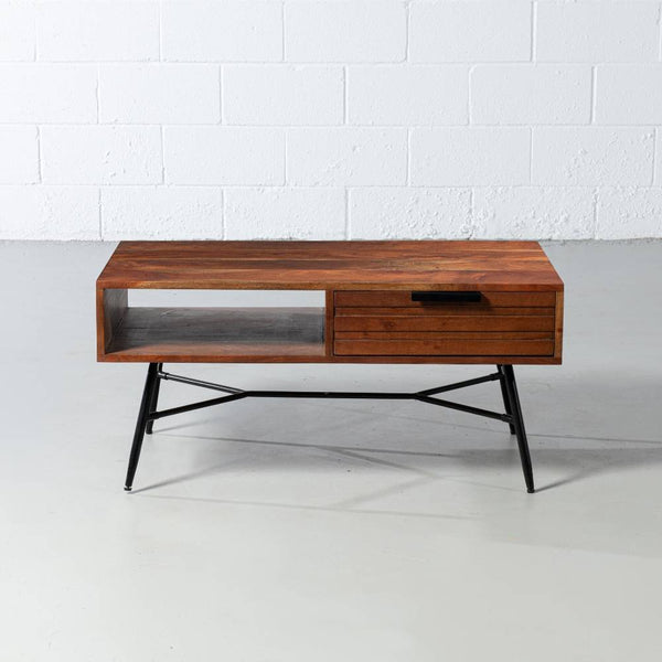 ARIA - Acacia Wood Coffee Table - Wazo Furniture