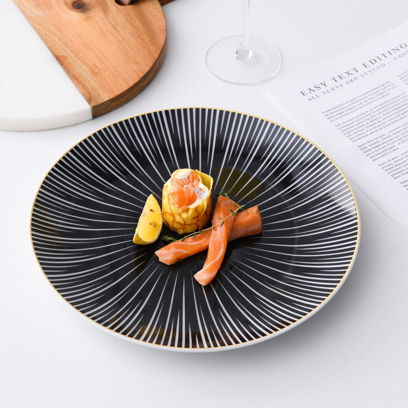 "BARREAU - assiettes à dîner 10"" (2 pc)"