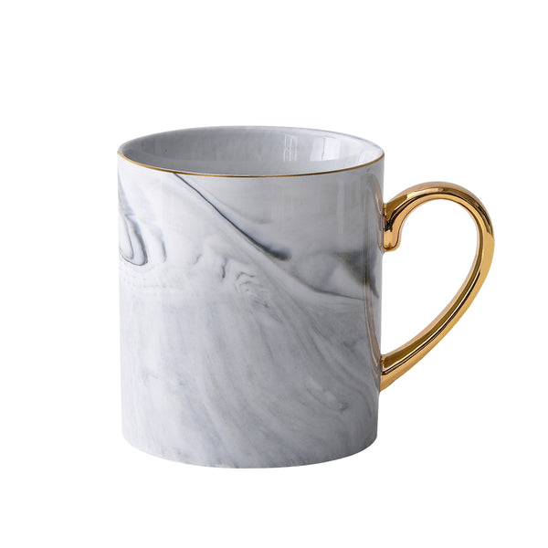 CHAPELLE - tasse grise (2 pc)