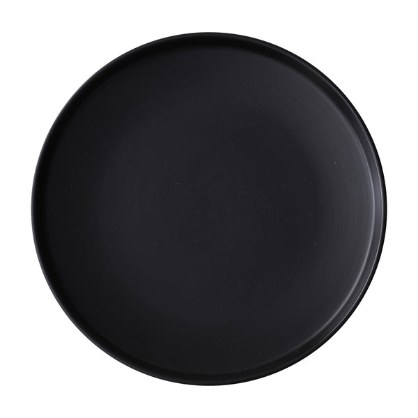 CARREL - Black Dinner Plates (2 pc)