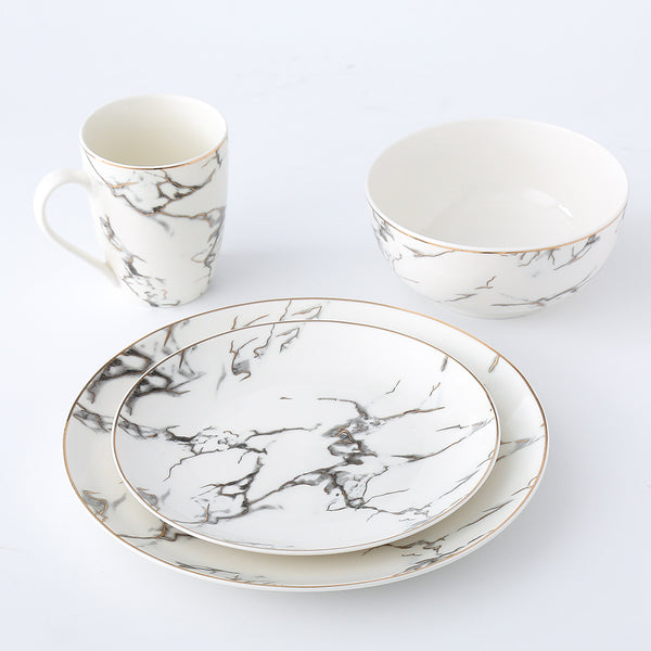 LEVIS - Marble Dinner Set (4 pc)
