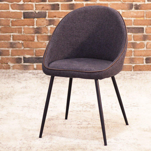 DEX - Grey Fabric Dining Chair (FINAL SALE) - Wazo Furniture