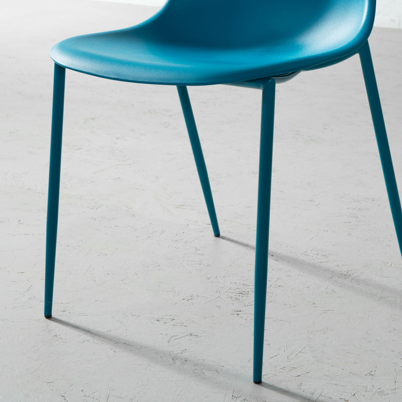 ELLEN - Teal Dining Chair