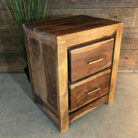Hilliard Rosewood End Table - Wazo Furniture
