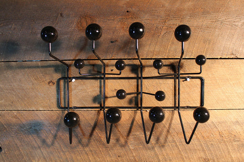Eames Hang-It-All-Black Inspired By Charles And Ray Eames - Wazo Furniture