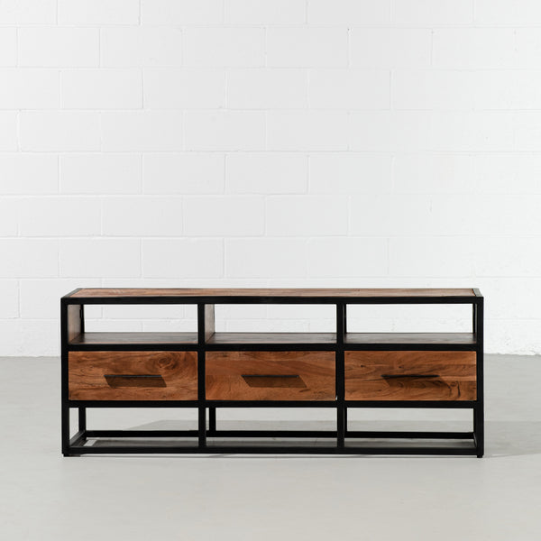 LIMA - Rustic Modern Minimalist TV Unit - Wazo Furniture