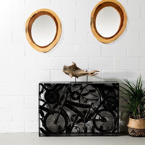 KARMA - Black Metal Console - Wazo Furniture