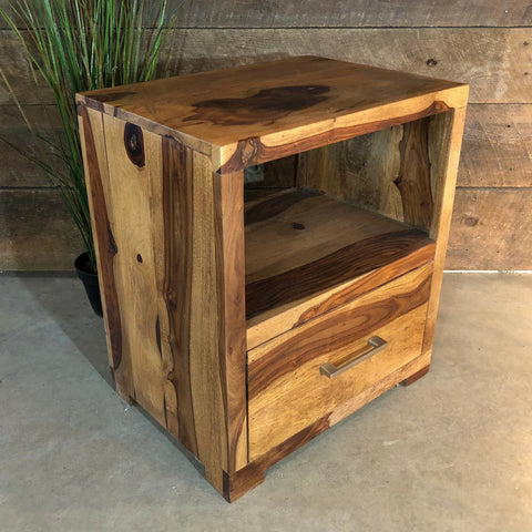 Adirondack Rosewood Night Stand - Wazo Furniture
