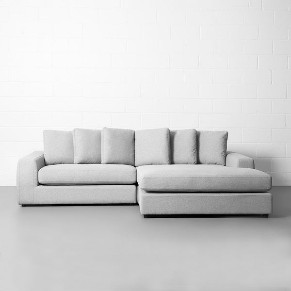 BRYCE - Grey Interchangeable Sectional Sofa