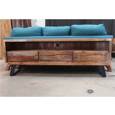 Acacia Wood TV Unit - Wazo Furniture