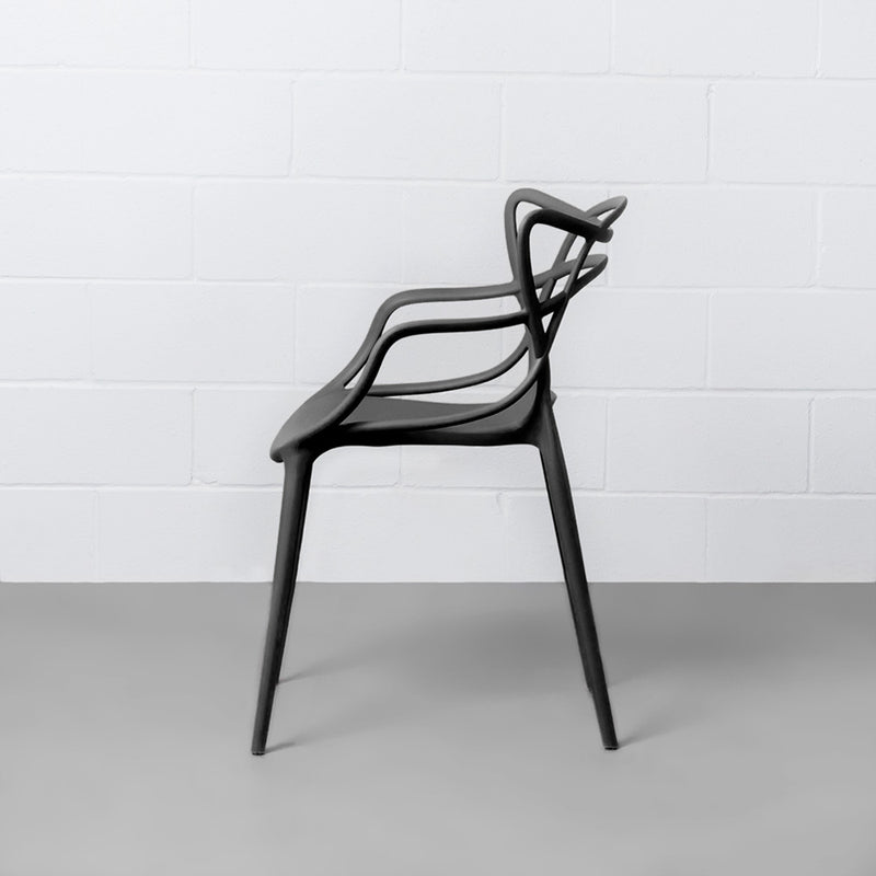 MASTERS - chaise noire