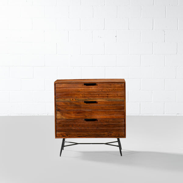 ARIA - Acacia 3-Drawer Chest