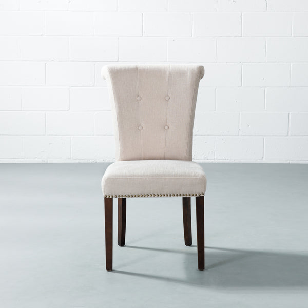 NORD - Cream Fabric Dining Chair