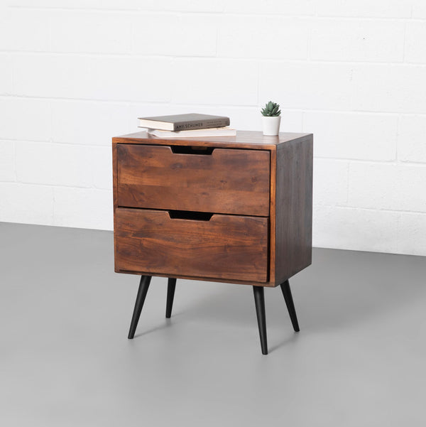 MADRID - Acacia Nightstand
