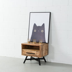MAURA -  Mango Wood Night Stand