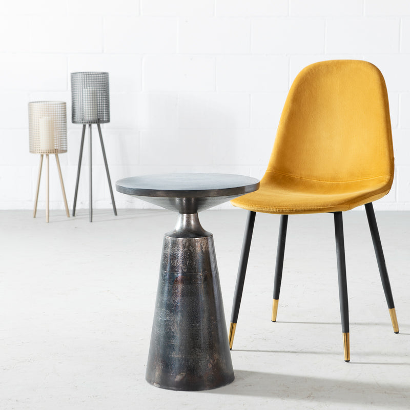 JOVIE - Metal Side Table