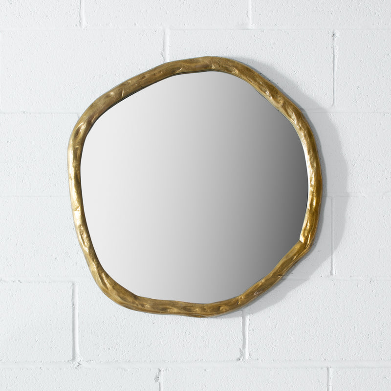 ZABE - Live Edge Metal Mirror (60 cm & 90 cm)