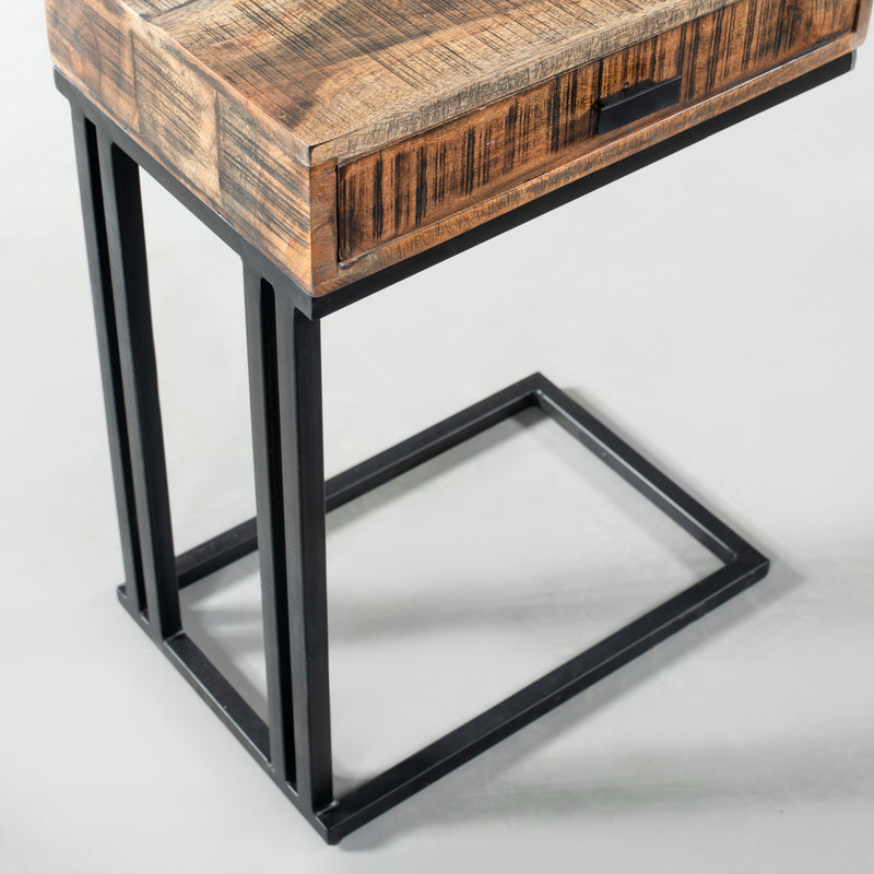 PIPER - Acacia Side Table