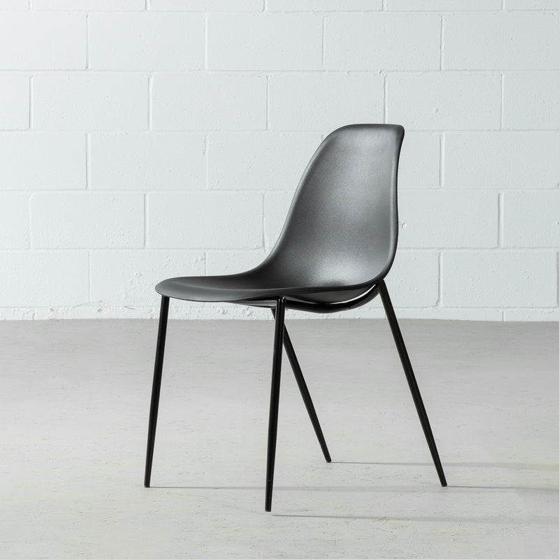 ELLEN - Black Dining Chair