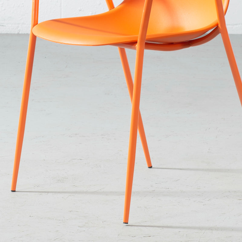 ELLEN - Orange Armchair