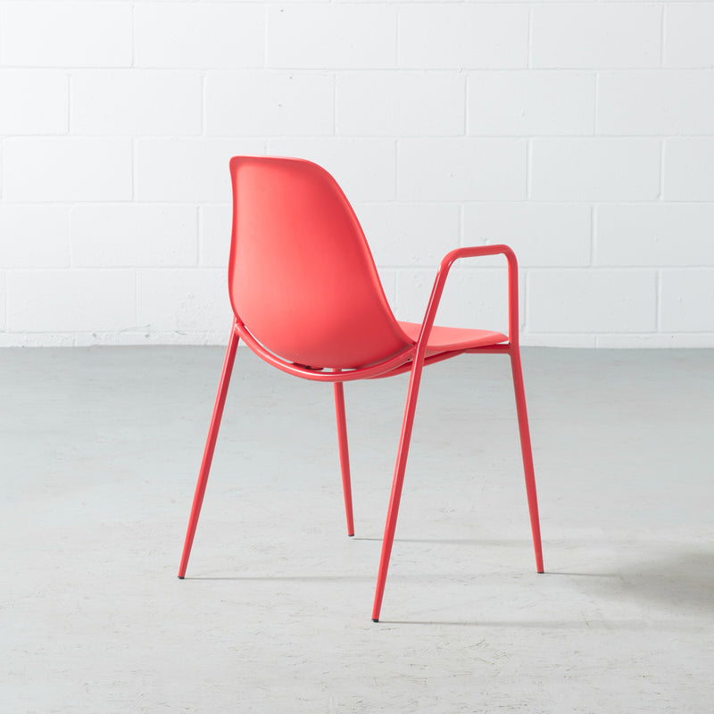 ELLEN - Red Armchair