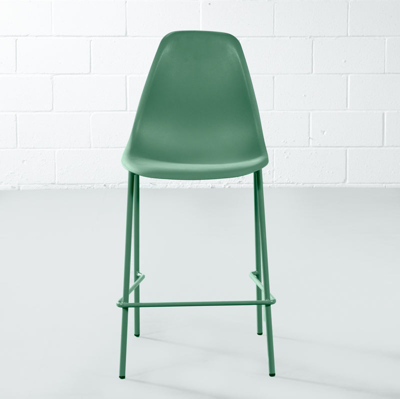 ELLEN - Green Counter Stool