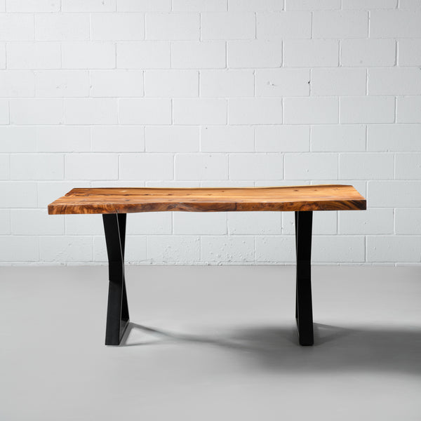 COMPAC - Suar Live Edge Table X Black
