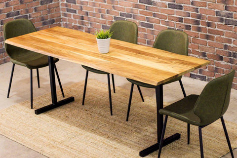 THOMAS - Live Edge Acacia Dining Table (200 cm)