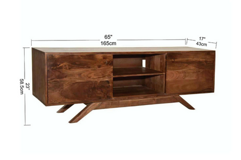 Rustic Modern Furniture. Cleveland Mid Century Rustic Modern Tv Unit   Wazo  Furniture Rustic