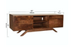 CLEVELAND-Mid Century Rustic Modern TV Unit - Wazo Furniture