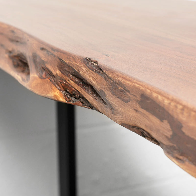 MAZA - Live Edge Acacia Console Table (130 cm)