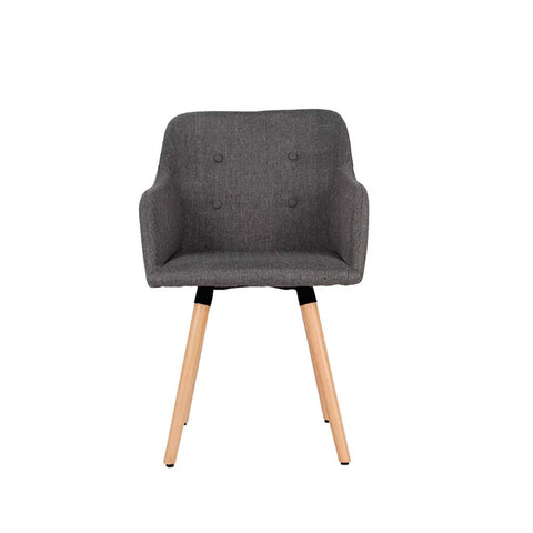 wazo button fabric chair