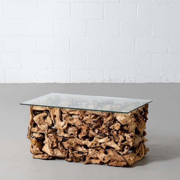 MONET - Teak Root Coffee Table - Wazo Furniture