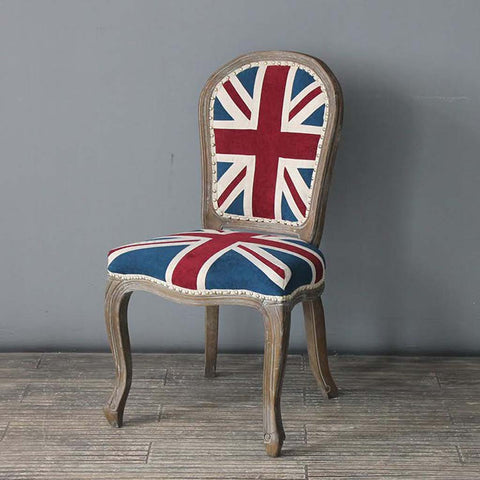 Union Jack Louis Side Chair