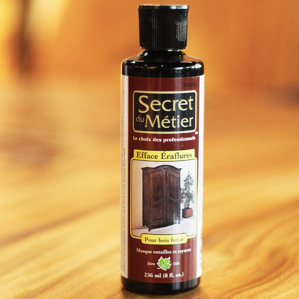 TRADE SECRET - Scratch Remover for Light Wood / Dark Wood (sold separately) - Wazo Furniture