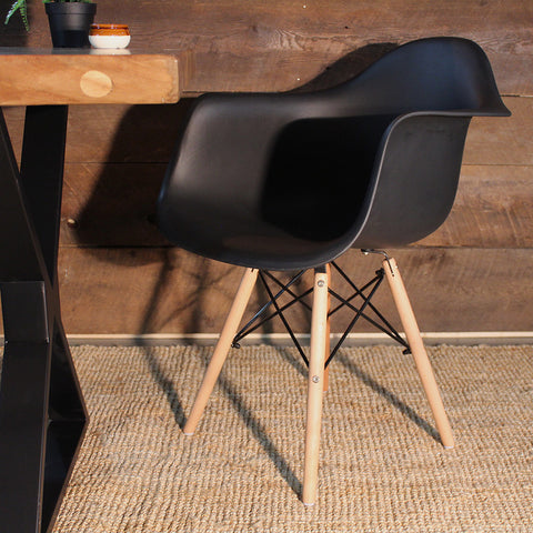 Eames Style Molded Armchair