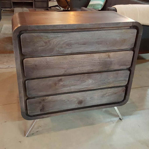 Four Drawer Mango Wood Sideboard
