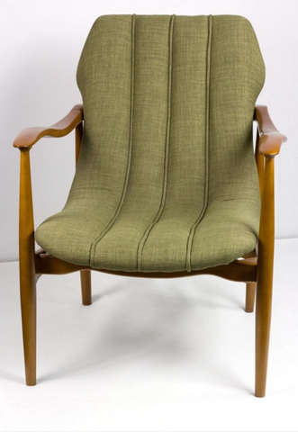 Greenback Mid Century Lounge Chair