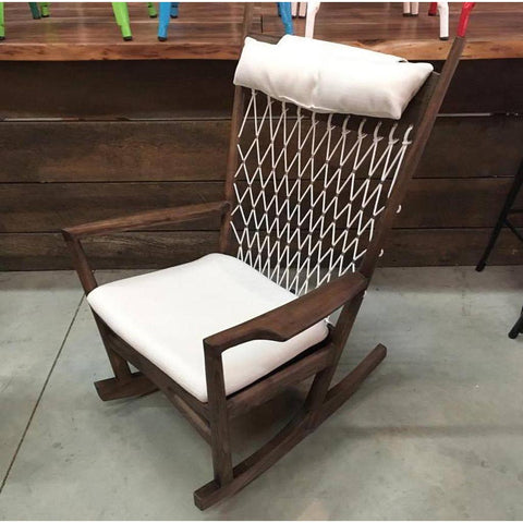 Hans Wegner Wooden Rocking Chair
