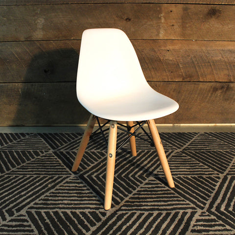 Kids Eames Style Molded Side Chair - Wazo Furniture
