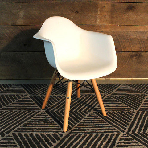 Kids Eames Style Molded Armchair