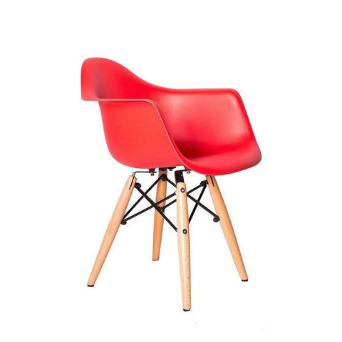 ... Kids Eames Style Molded Armchair   Wazo Furniture ...