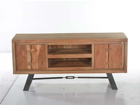 Live Edge Acacia TV Unit