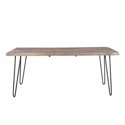 Karmichael Mango Wood Table With Hair Pin Legs