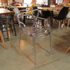 Transparent Philippe Starck Style Master Chair