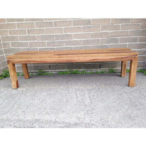 Rosewood Sheesham Bench with Natural Finish