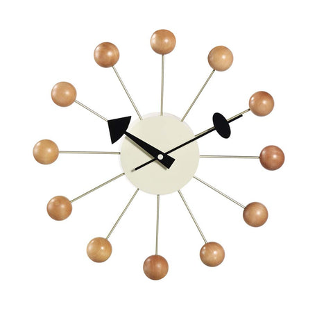Nelson Ball Clock Designed by Irving Harper for George Nelson