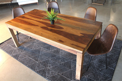 Rosewood Sheesham Table with Natural Finish