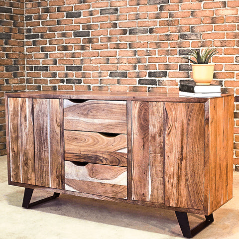 AROSA - Acacia Wood Sideboard - Wazo Furniture